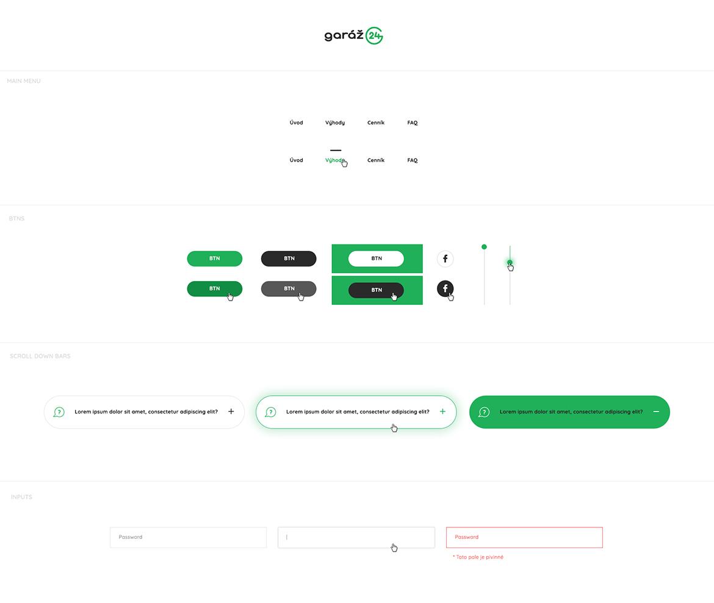 Garaz24_webdesign_UI-kit