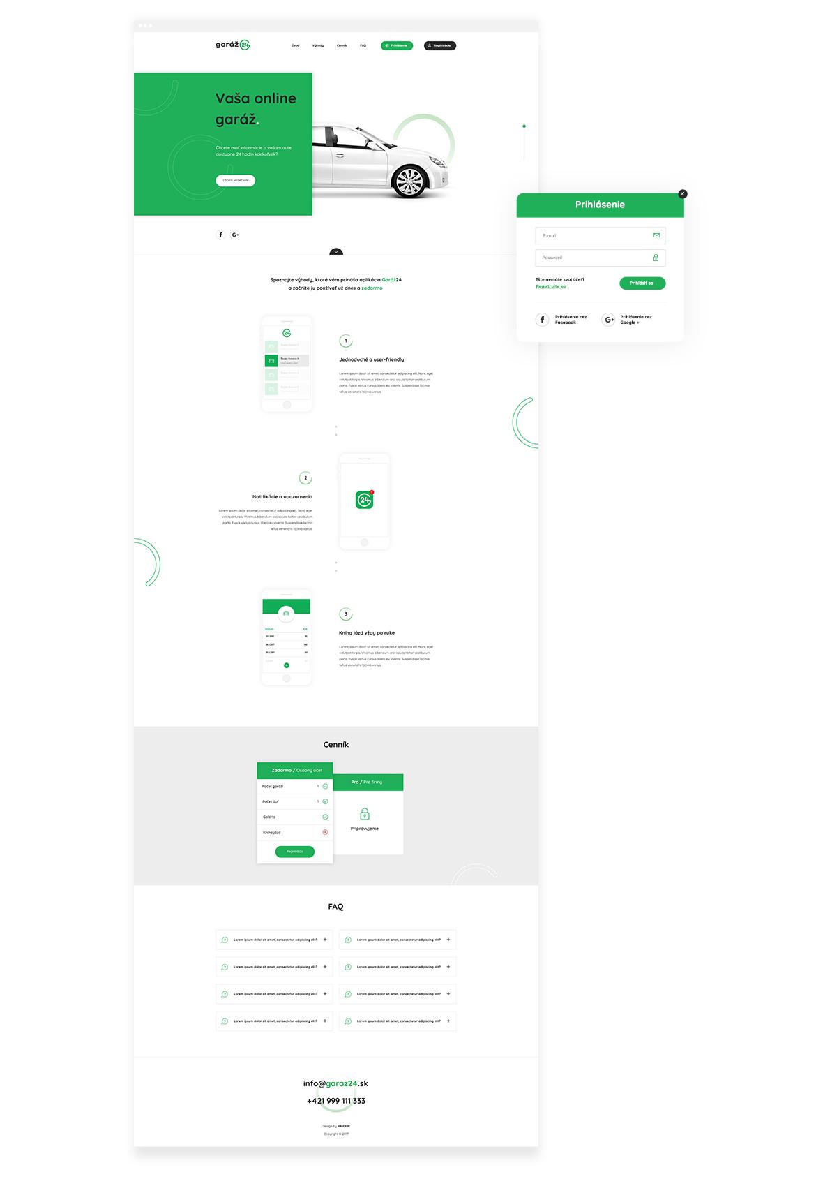 Garaz24_webdesign_variant